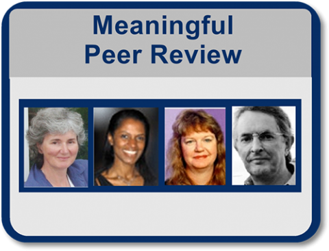 Translating Critical Appraisal of a Manuscript into Meaningful Peer Review